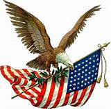 Eagel and Flag